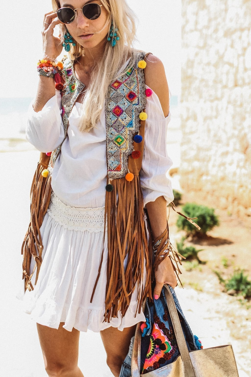 Boho Chic In Ibiza Constantly K