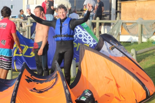 Kitesurfing Clinic and Kite Camps in LAngebaan South Africa