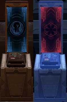 Sith and Republic Travel Terminals