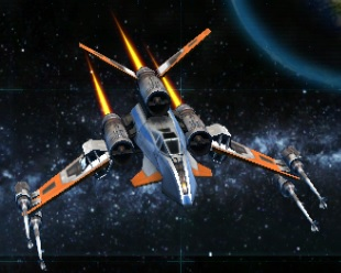 Galactic Starfighter PT-6 Pike