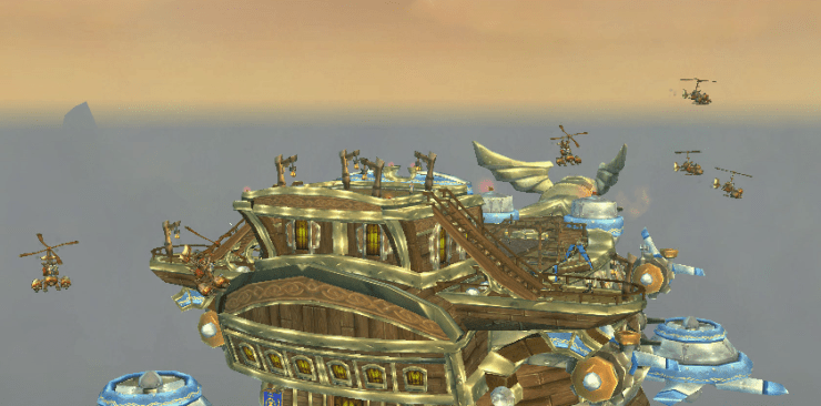 world of warcraft airship