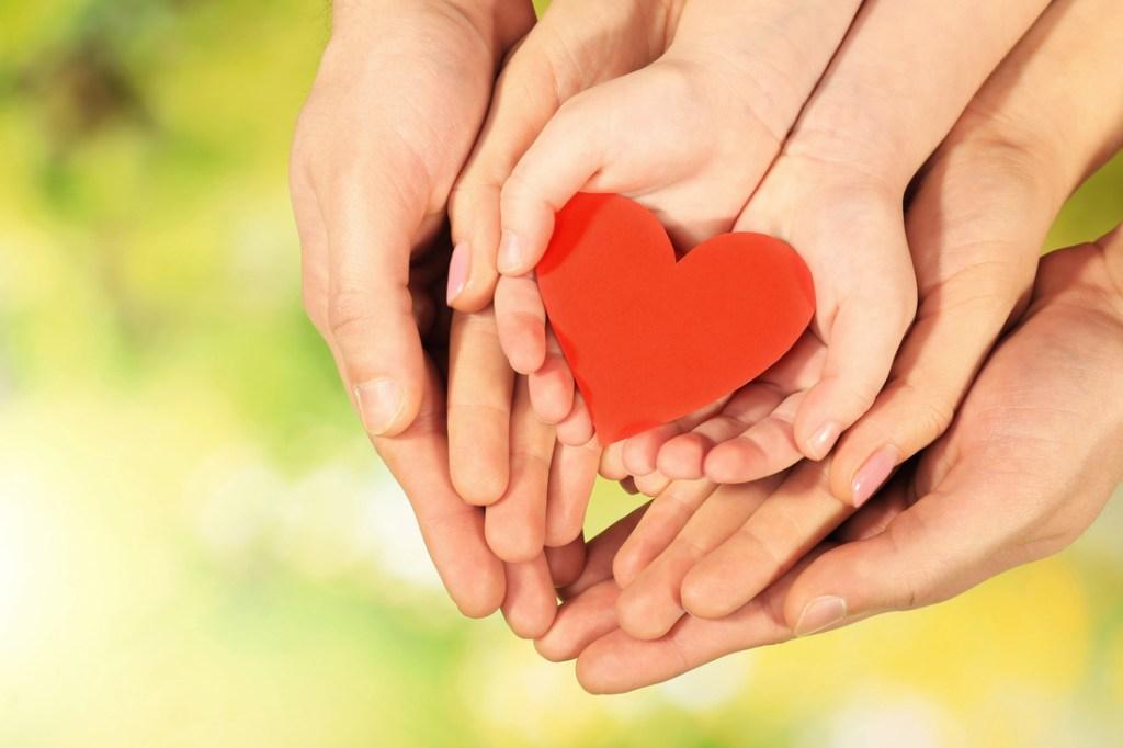 Representa a entrega do amor