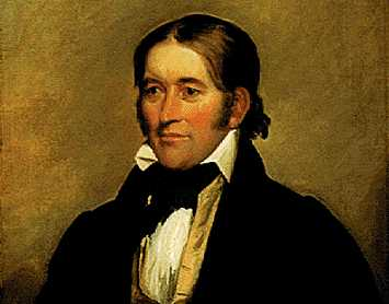 David Crockett Portrait