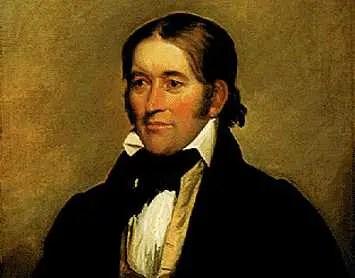 David Crockett Portrait