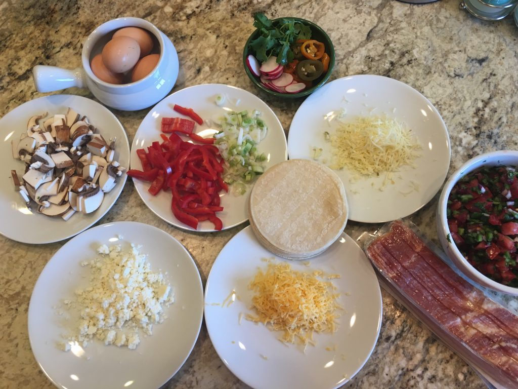 ingredients how to make breakfast tacos