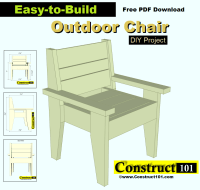 outdoor chair plans - Construct101