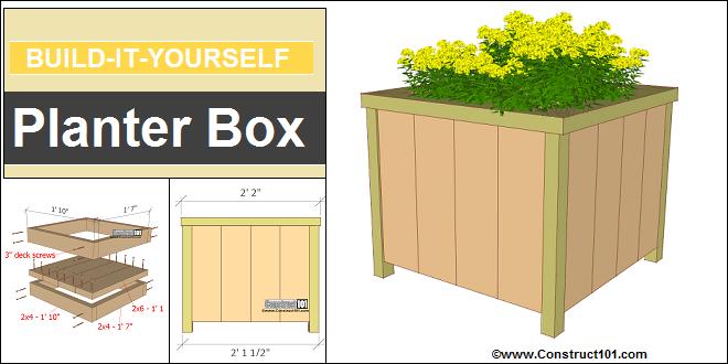 Garden Box Building Plans
