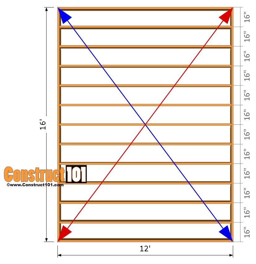 Post Frame Building Plans
