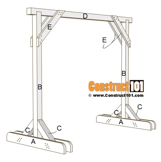 porch swing stand plans free pdf