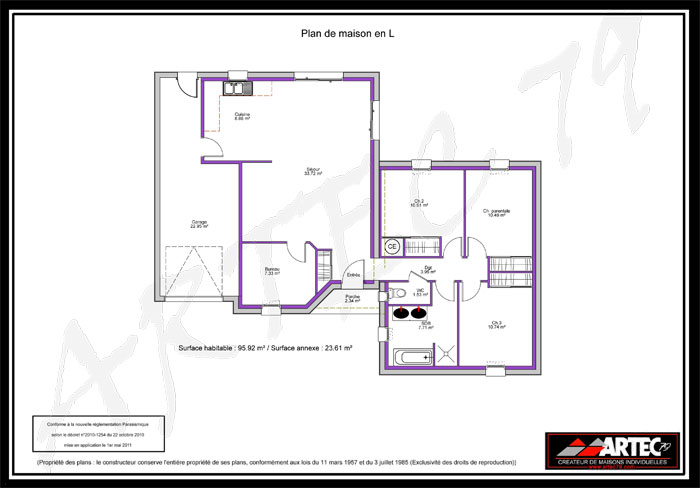 Plan architecte maison gratuit licence gratuite logiciel for Plan maison positive