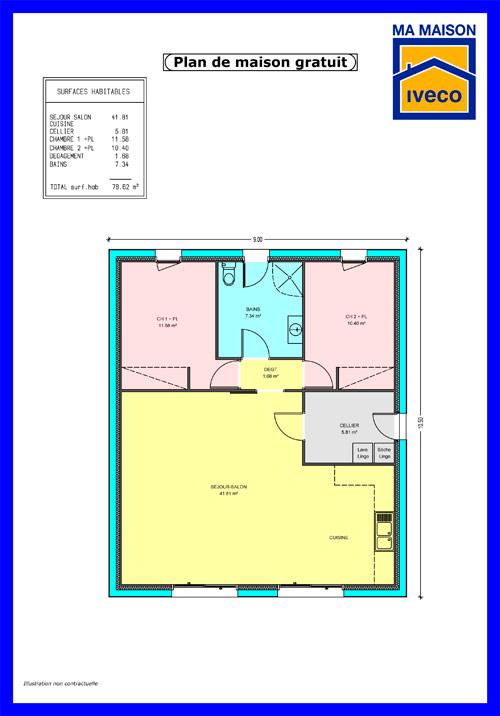 constructeurvendeenet  plans de maisons