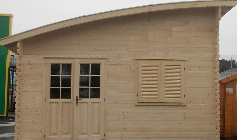 Chalet Habitable Toulouse  25m en bois en kit