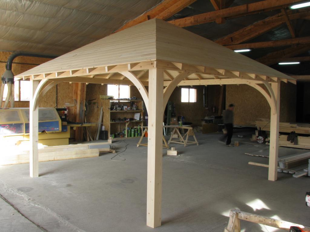 Maison en bois sans permis for Permis de construire pergola