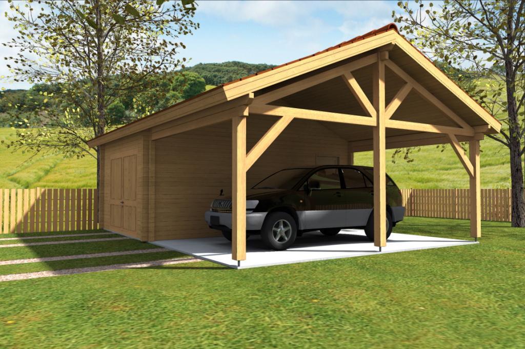 maison en bois sans permis de construire. un with maison en bois ... - Comment Construire Un Garage En Bois