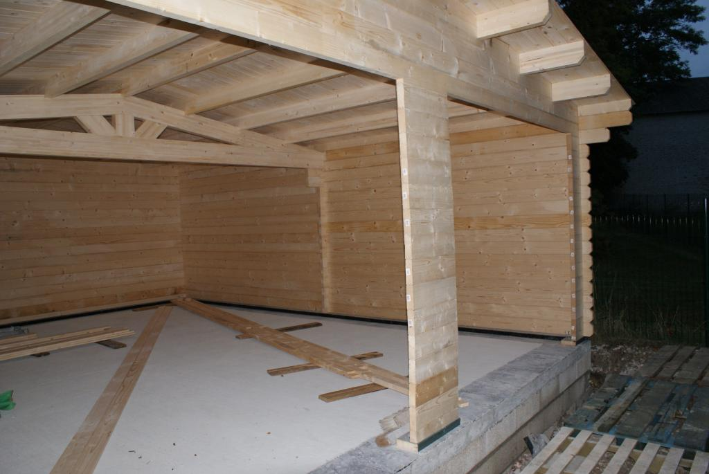 Garage en bois
