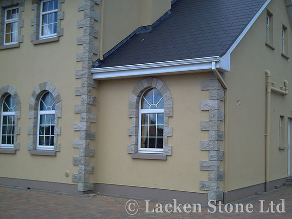 Stone products for sale NI Exterior stone wall cladding