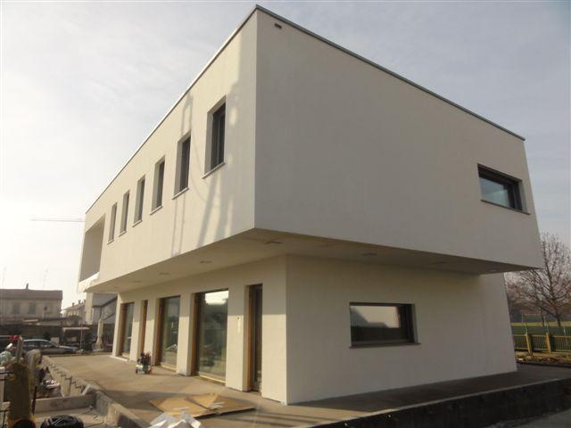 Edificio CASACLIMA A NATURE a Bernate Ticino  Construction21