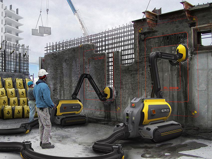 Robot muratore