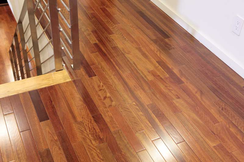 Nailing down a quality hardwood floor with OSB