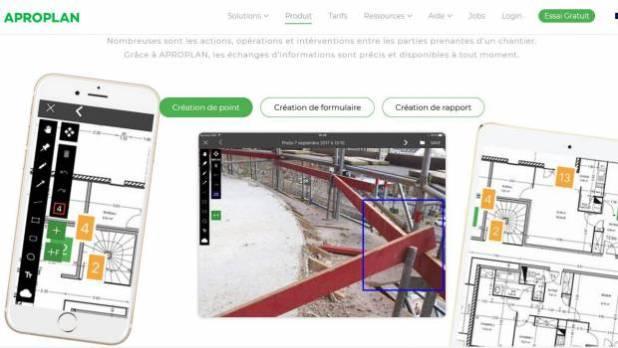Aproplan digitalise les chantiers