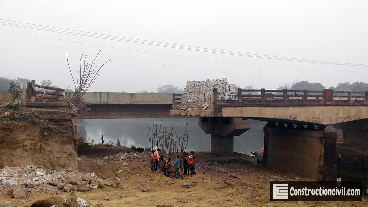 Rehabilitation of Balance Cantilever Minor Bridge
