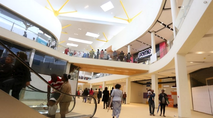 Garden City Mall in Nairobi.