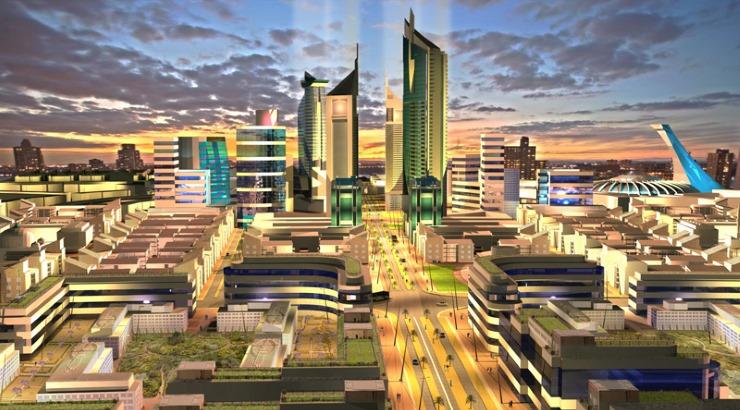 Image result for mwai kibaki konza city