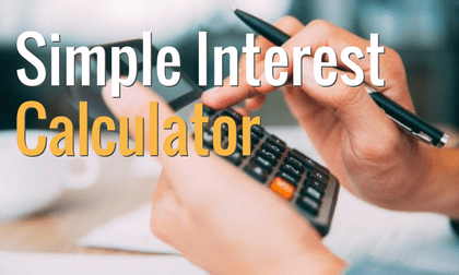 Interest only loan calculator
