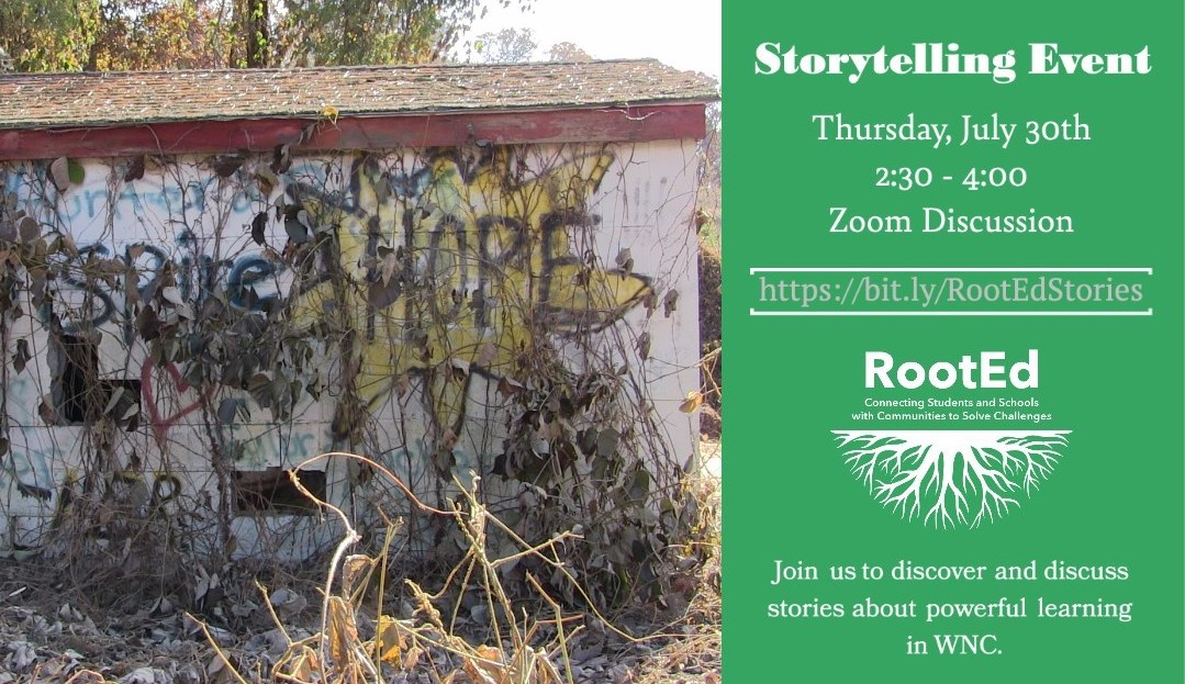 RootEd Storytelling Event