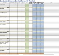 Itemized Home Cleaning Invoice