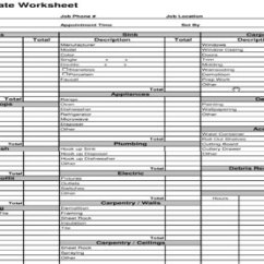 Kitchen Remodel Cost Estimator Used Cabinets For Sale By Owner Construction Estimating Template - Estimate ...