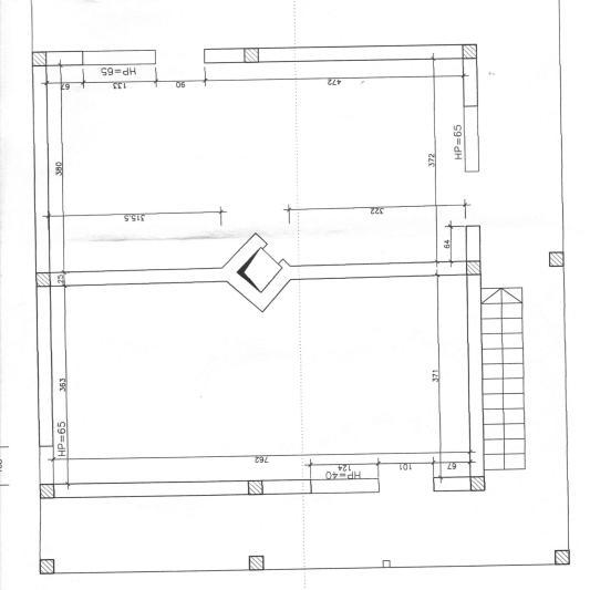 Planul de etaj intial