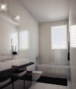 Baño de casa modular 100 metros cuadrados