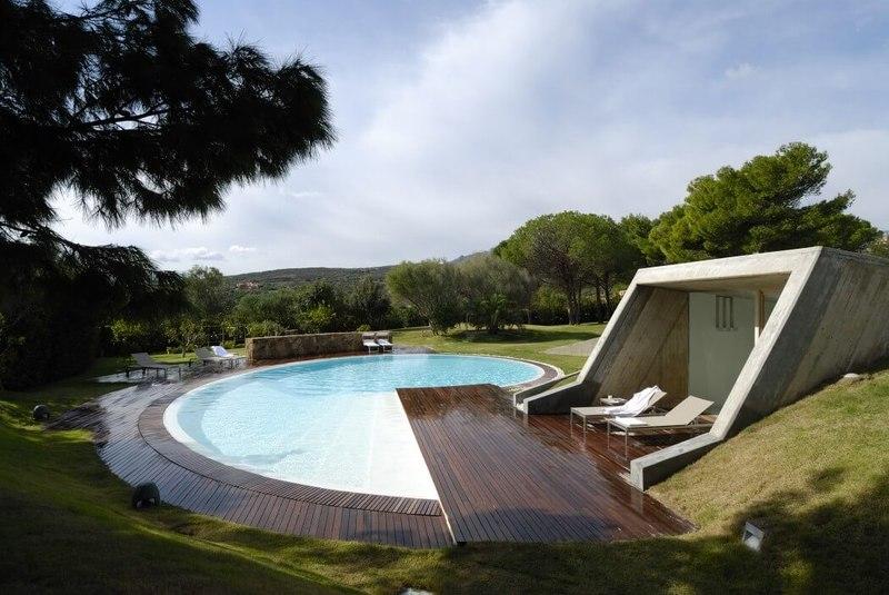 12 piscines  effet wouah   Construire Tendance