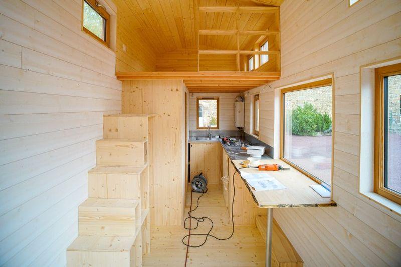 La tiny house de Bruno Thiry en Normandie France  Construire Tendance