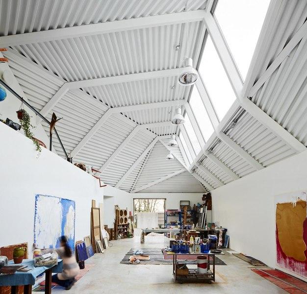 Maison et atelier dartiste par Miba architects  Gijn Espagne  Construire Tendance