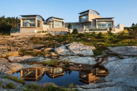 Nova Scotia House par Alexander Gorlin Architects - Ketch Harbour. Canada   Construire Tendance