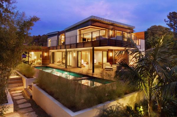 Maison bois contemporaine certifie LEED Platinum par MaienzaWilson Interior Design
