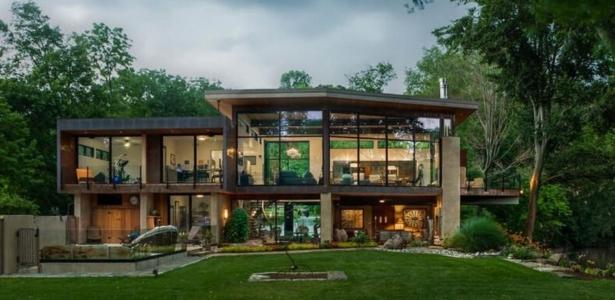 Charmante maison contemporaine trs ouverte sur la nature