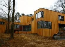 ossature maison en bois