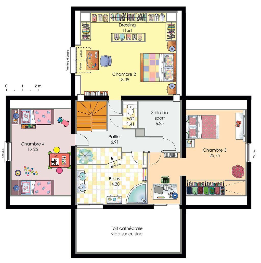 Plan Habille E E Maison Maison Darchitecte