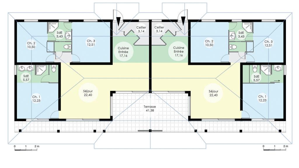 plan de grande maison