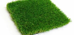 artificial grass produced on our weaving machine