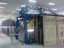 carpet weaving machinery dismantling and reconstruction