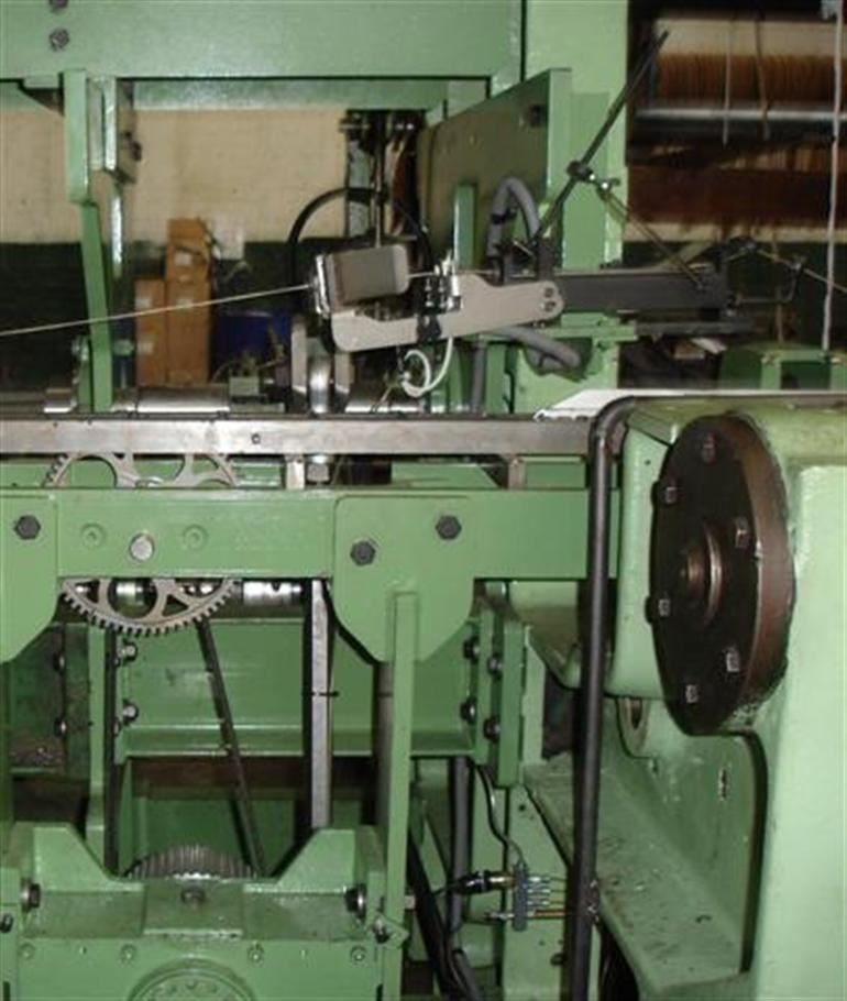 Transformation Of Wire Wilton Weaving Machine Into