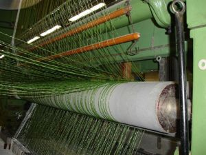 artificial grass weaving machine