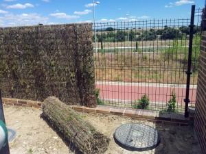 Colocación de brezo en Barcelona