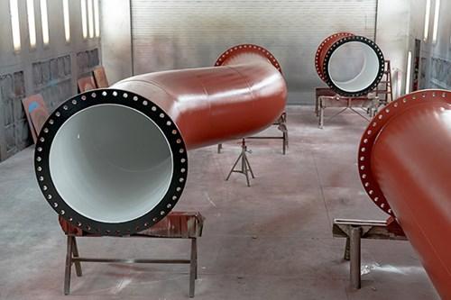 Accesorios para tuberías de fundición dúctil.