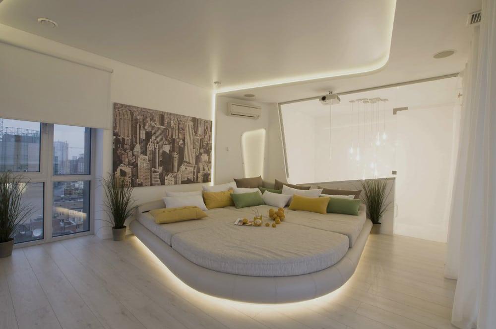Diseo de penthouse ultra moderno decoracin de interiores