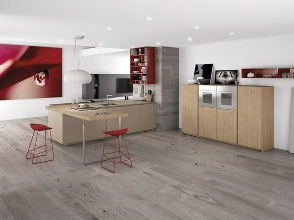Diseo de cocinas modernas minimalistas Fotos